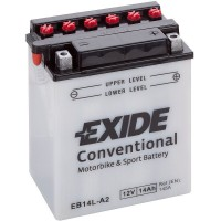 Exide EB14L-B2 14Ah 200A R+