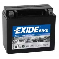 Exide AGM12-10 10Ah 180A R+