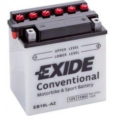Exide EB10L-A2 11Ah 130A R+