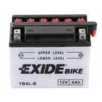 Exide EB4L-B 4Ah 50A R+