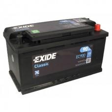Exide CLASSIC 90Ah 720A R+