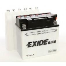 Exide EB16CL-B 19Ah 240A R+