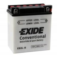 Exide EB5L-B 5Ah 60A R+