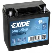 Exide START-STOP 15Ah 200A JL+