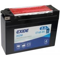 Exide ET4B-BS 2.3Ah 30A R+