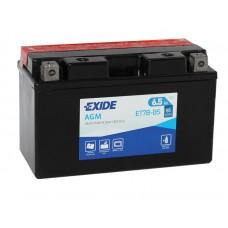 Exide ET7B-BS 6.5Ah 85A L+