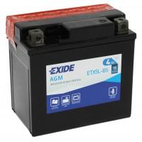 Exide ETX5L-BS 4Ah 70A R+