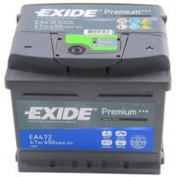 Exide PREMIUM 47Ah 450A R+