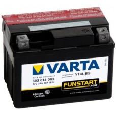 Varta 503014003 YT4L-BS 3Ah 40A R+