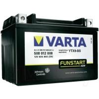 Varta 508012008 POWERSPORTS AGM YTx4-BS 8Ah 135A L+