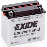 Exide EB18L-A 18Ah 190A R+