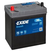 Exide EXCELL 35Ah 240A JL+ Asia