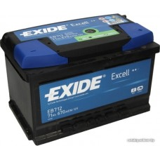Exide EXCELL 71Ah 670A R+