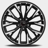 Momo SUV RF-02 90\R20 5*130 ET45 d715 MATT BLACK POLISHED