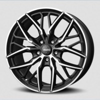 Momo SUV SPIDER 100\R21 5*120 ET45 d72,6 MATT BLACK POLISHED