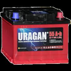 Uragan 55Ah 450A R+