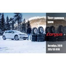 L'Argus 2019: Тест зимних шин размера 205/55 R16